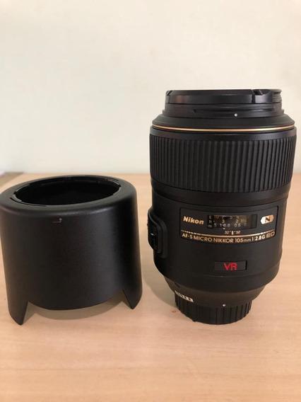Lente Nikon Af-s Vr 105mm F/2.8g