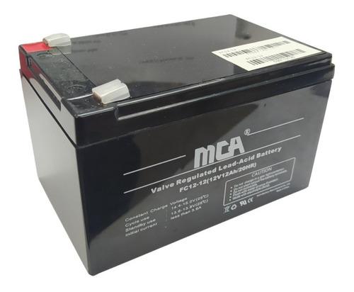 Batería 12v 12ah Para Ups Respaldo Energía,tienda Fisica Ccs
