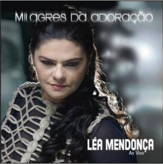 Cd + Playback Léa Mendonça - Milagres Da Adoração