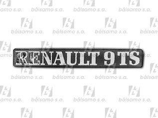 Imagen 1 de 1 de Emblema - Renault 9 Ts -