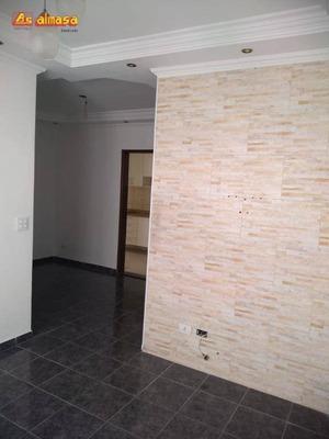 Apartamento Com 2 Dormitórios Para Alugar, 64 M² Por R$ 1.000/mês - Jardim Bom Clima - Guarulhos/sp - Ap0342