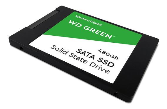 Ssd Green 480gb 2,5 Sata Wds240g2g0a - Western Digital
