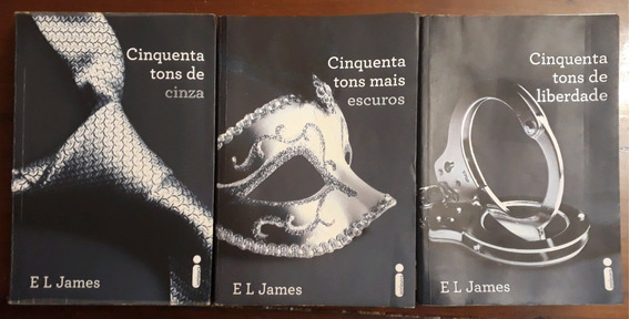 Trilogia De Livros 50 Tons De Cinza Completa
