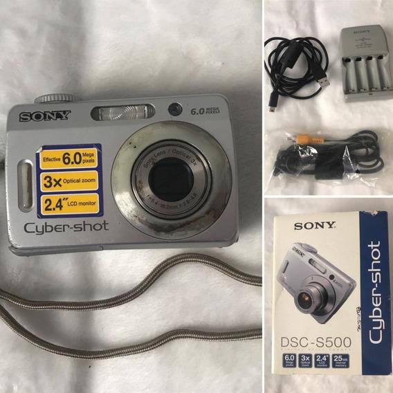 Câmera Sony Dsc S500
