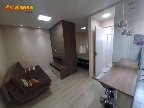 Imagem 1 de 13 de Studio Com 1 Dormitório, 30 M² - Venda Por R$ 280.000,00 Ou Aluguel Por R$ 1.580,00/mês - Gopoúva - Guarulhos/sp - St0002