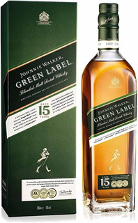 Whisky Johnnie Walker Verde (1.botella) 100% Original