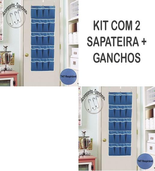 2 Sapateira Porta Vertical 20 Divisorias Em Tnt