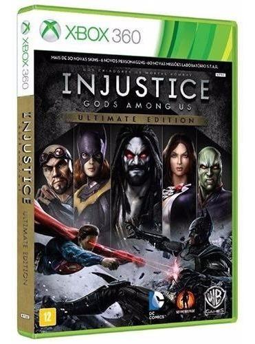 Jogo Injustice Gods Among Us Xbox 360 E Xbox One Lacrado