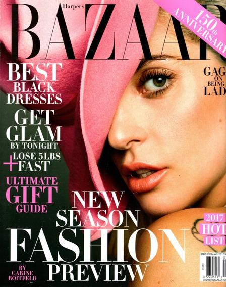 Harpers Bazaar Americana - 2016/12 - Lady Gaga