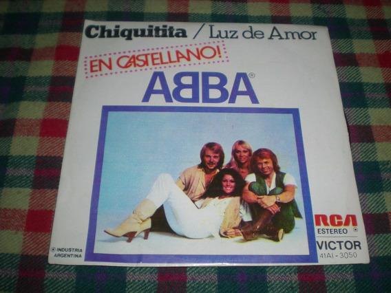 Abba / Chiquitita En Castellano - Vinilo 7 PuLG S2