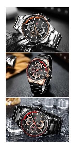 Relógio De Luxo De Quartzo