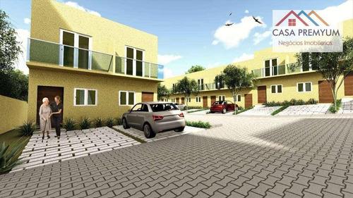 Condominio Com 20 Casas. No Km 26 Da Raposo. Apenas R$302.000 - Ca0326