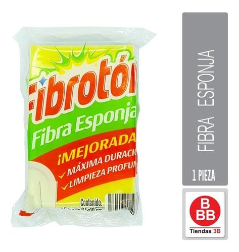 Imagen 1 de 2 de Fibra Esponja, Fibrotón (6.5x10cm)