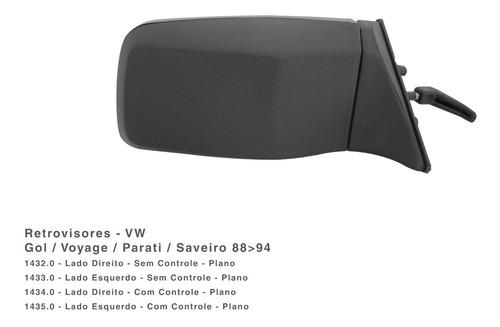 Espejo Izquierdo Vw Gol Amazon Pti. 88...94 C/control Cofran