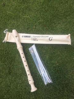 Flauta Dulce Yamaha Yrs 23 Originales-