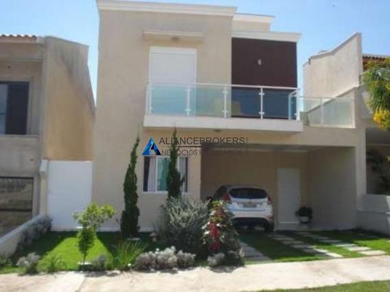 Casa Sobrado Em Condomínio Fechado Tradicional De Jundiaí, Sp. No Residencial Quinta Das Atirias. - Ca02014 - 68192220