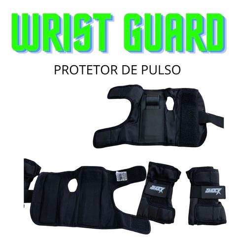 Imagem 1 de 4 de Wrist Guard Protetor De Punho Shock Skate Patins
