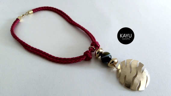 Collar / Mayoreo / Piedra Natural / Chapa Oro / Joyería