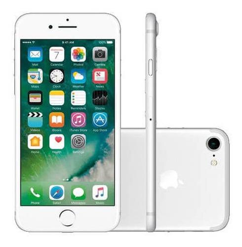 iPhone 7 32gb- Prata- Produto Usado!