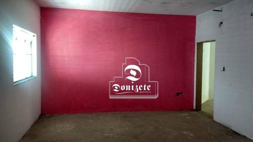 Sala Para Alugar, 35 M² Por R$ 880,00/mês - Parque Das Nações - Santo André/sp - Sa0915