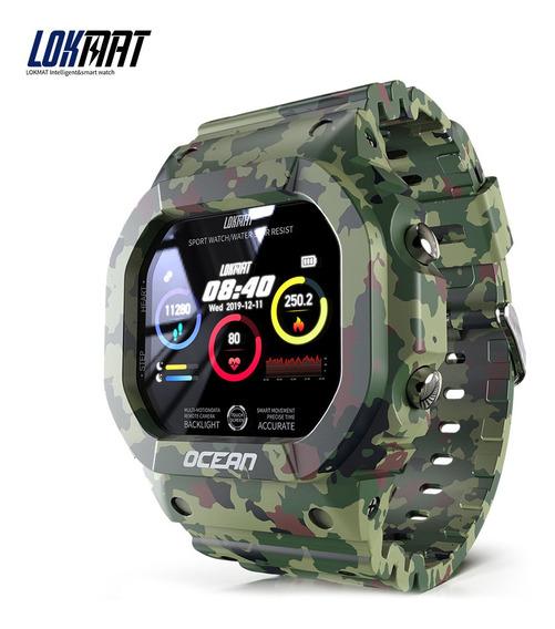 Lokmat Relógio Inteligente Frequência Cardíaca E Monitor