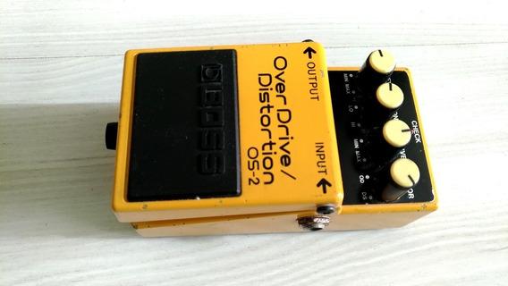Pedal Boss Overdrive Distortion Os-2 Para Guitarra (trocas)