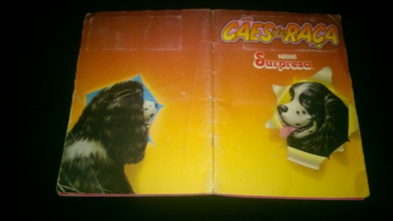 Album Cães De Raça Surpresa - Incompleto ( 4 )