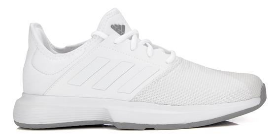 Tênis Masculino adidas Gamecourt Branco Bege E Cinza