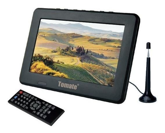 Tv Digital Portatil Monitor 9pol Conversor Integrado Mtm909