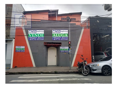 Prédio A Venda No Bairro Vila Endres Em Guarulhos - Sp.  - 2483-1