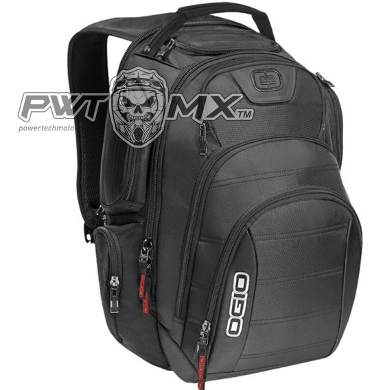 Mochila Ogio Rev Pack Para Laptop - Negro