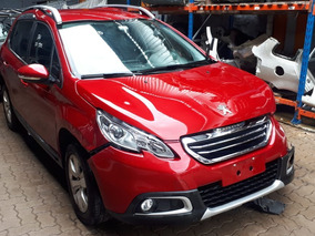 Sucata Peugeot 2008 At Ano 2017 1.6 122cv Automático