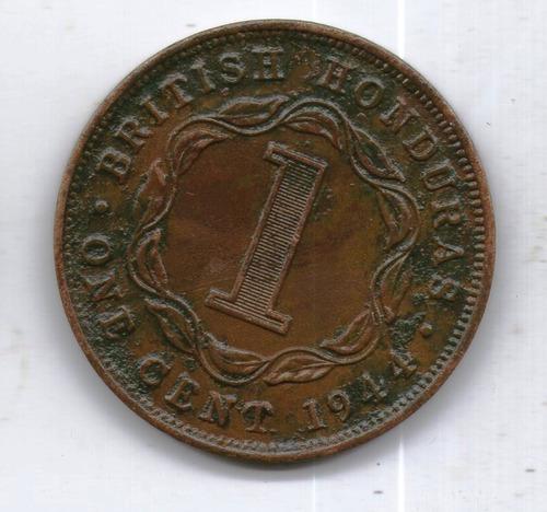 Honduras Britanica Moneda 1 Cent 1944 Km#21 - Argentvs
