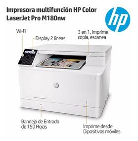 Multifuncional Laserjet Color Hp Pro M180 110v Transfer