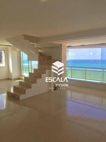 Cobertura Com 3 Quartos À Venda, 125 M², Nova, Linda Vista Mar - Meireles - Fortaleza/ce - Co0025