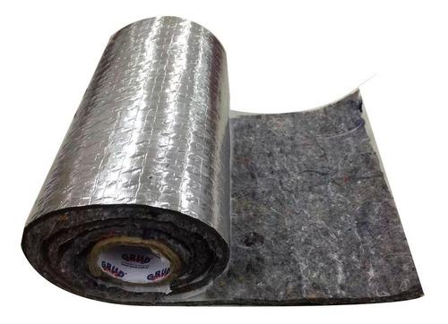 Aislante Fieltro Reforzado Aluminio Auto Calor Frio Ruido
