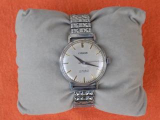 Reloj Citizen Star A Cuerda Antiguo- Caja Acero Inoxidable