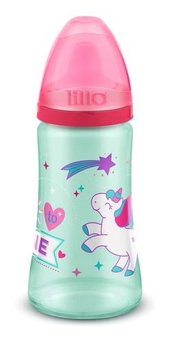 Copo Colors Magia Rosa Bico De Silicone Unicornio - Lillo