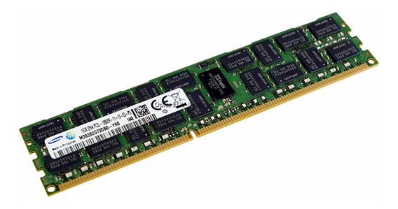 Memoria 16gb Ddr3 1600mhz Servidor Dell Hp Ibm Ecc Reg Rdimm