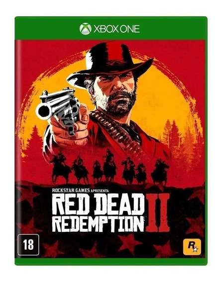 Red Dead Redemption 2 Xbox One Mídia Física Red Dead 2 Xone