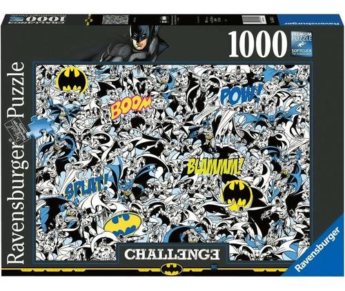 Imagen 1 de 1 de 16513 Challenge Batman Rompecabezas 1000 Piezas Ravensburger