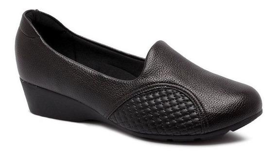 Sapato Modare Salto 3,3 Cm Anabela - 7014229 Branco