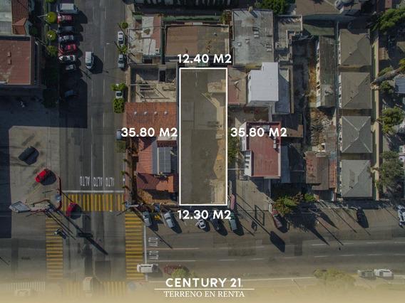 Terreno En Renta En Zona Centro, Tijuana Baja California