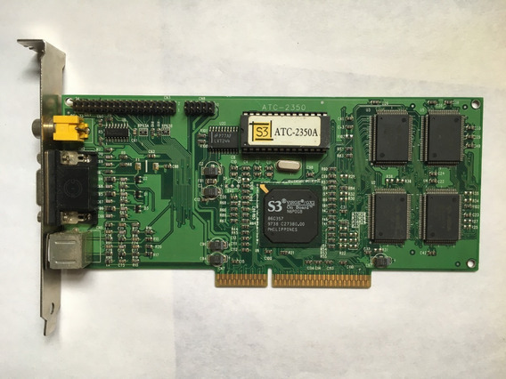 Atrend Placa De Video Agp 4mb S3 Virge/gx2