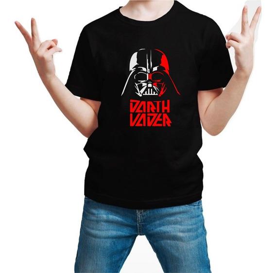 Playera Star Wars Darth Vader Skywalker V2 Niño