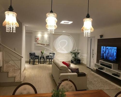 Imagem 1 de 23 de Casa A Vendar Em Condomínio Fechado No Parque Da Hípica. Imobiliária Em Campinas. - Ca01026 - 69499417