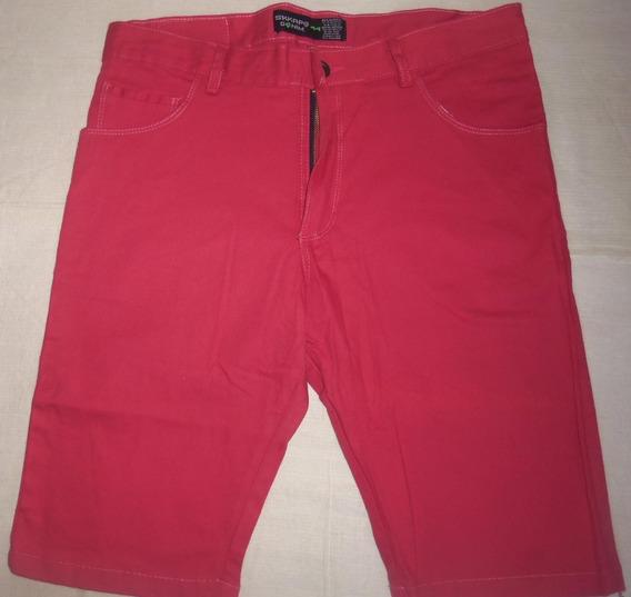 Pantalon Bermudas De Hombre Color Fiel Talle 44