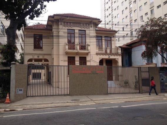 Casa Para Alugar, 700 M² - R$ 45.000/mês - Consolação - São Paulo/sp - Ca0253