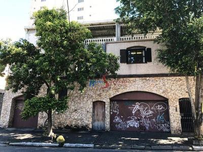 Sobrado Comercial À Venda, Vila Formosa, São Paulo. - So1235