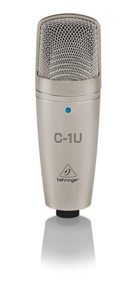 Microfone Condensador Behringer C-1u Garantia 2 Anos